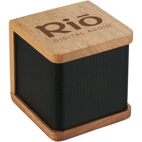 Haut-parleur Bluetooth® en bois Seneca