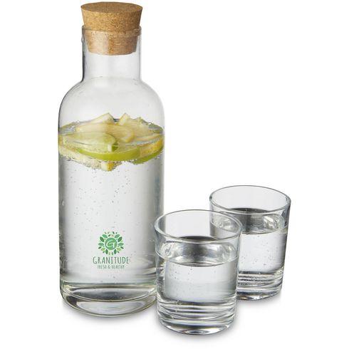 Carafe Lane avec ensemble de verres.