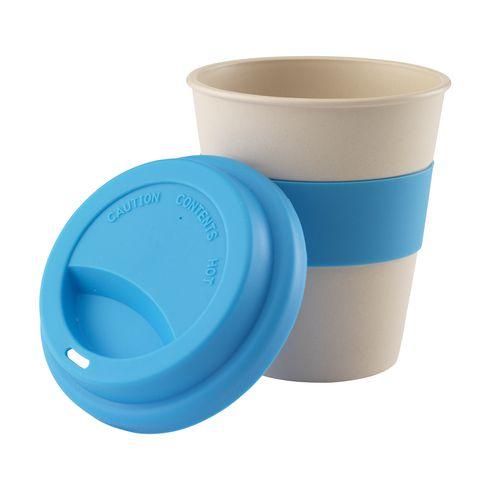 Mug pour café à emporter en bambou · 350 ml