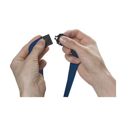 Cordon promotionnel avec fermoir de sécurité plastique