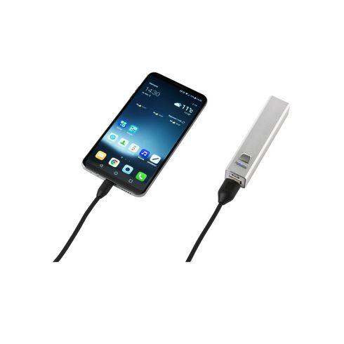 Batterie externe portable avec batterie au lithium 2600 mAh