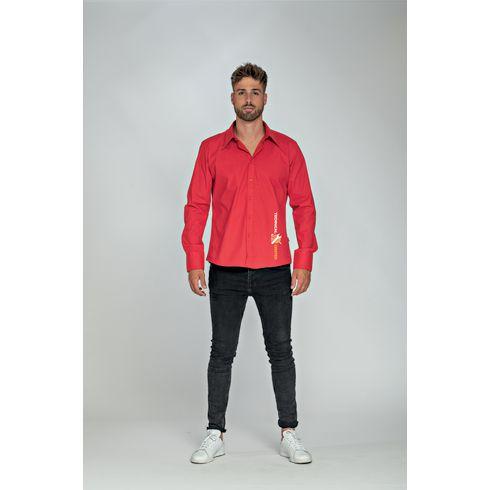 L&S Poplin Longsleeve Shirt homme chemise
