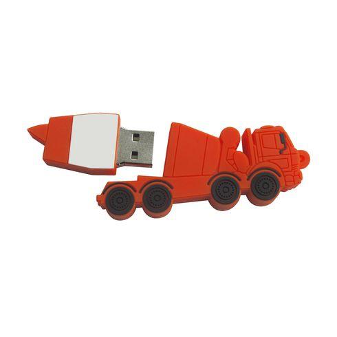 USB sur mesure 2D 5x6x1 cm