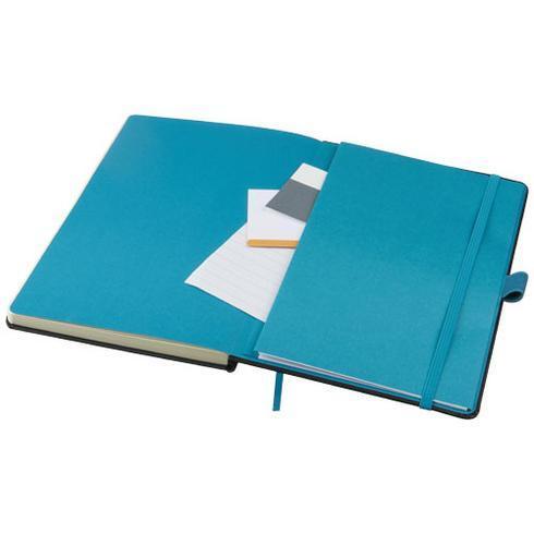 Bloc-notes couleurs A5 Meyla à couverture rigide