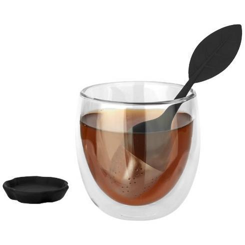 Ensemble de thé Spring avec verre et passe-thé