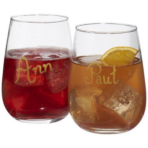 Ensemble de marquage sur verre de vin Barola