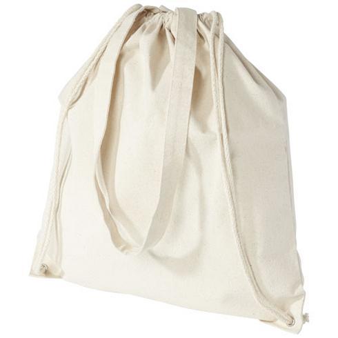 Sac à dos en coton 240 g/m² avec cordon de serrage Eliza