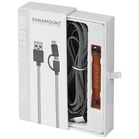 Câble de charge Paramount 3-en-1 en tissu