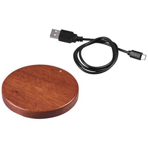 Tapis de charge sans fil en bois Bora