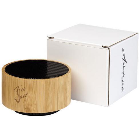 Haut-parleur Bluetooth® en bambou Cosmos
