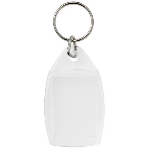 Porte-clés plastique avec attache en plastique Rhombus