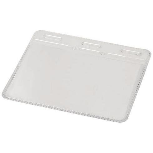 Porte-carte d'identité en plastique transparent Arell