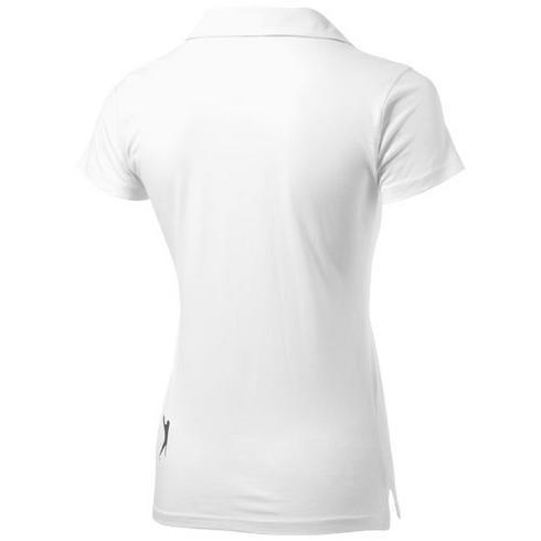 Polo en jersey manches courtes pour femmes Let