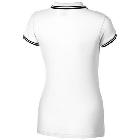 Polo manches courtes avec détail rayure pour femmes Deuce