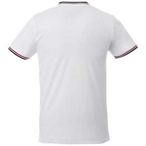 T-shirt maille piquée manches courtes homme Elbert