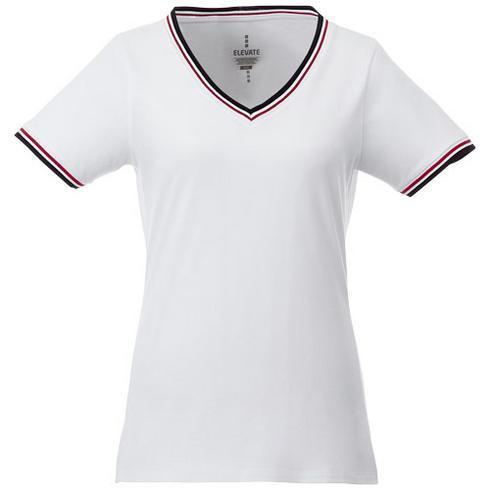 T-shirt maille piquée manches courtes femme Elbert