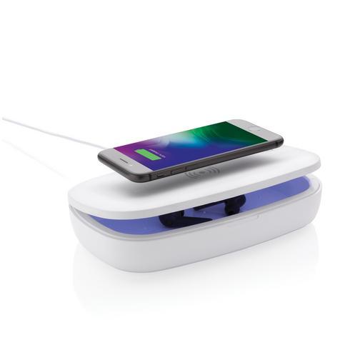 Boîte de stérilisation UV-C avec chargeur sans fil 5W