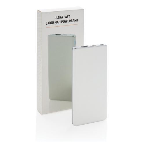 Batterie de secours Ultra rapide 5000 mAh et type-C