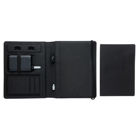 Housse à carnet avec chargeur 5W et powerbank 5000 mAh Air