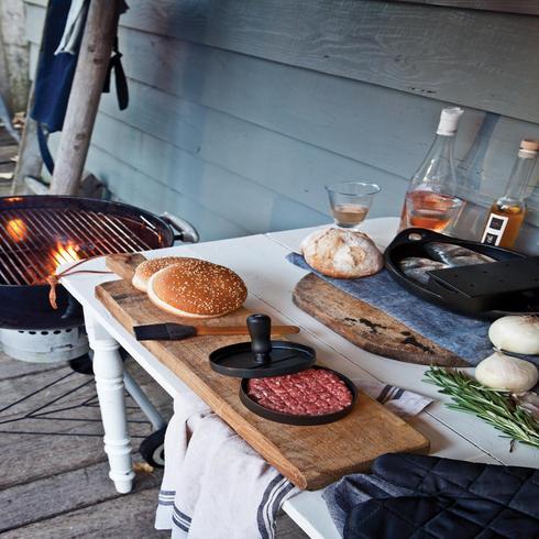 Set hamburger pour barbecue