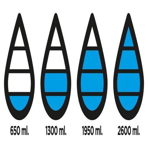 Bouteille de suivi d'hydratation Aqua