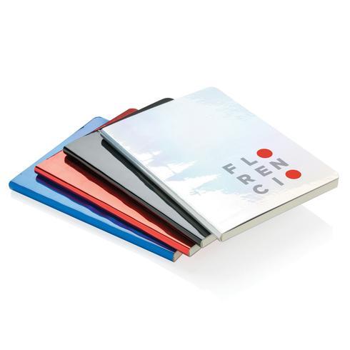 Carnet de notes A5 métallique