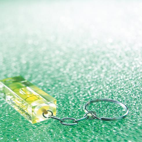 Porte-clés / niveau à bulle